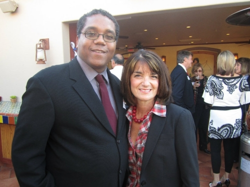 Stephen McDow with Assembly-member Diane Harkey 73rd District, California.