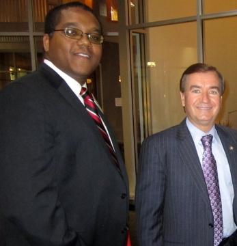 Stephen McDow with Congressman Ed Royce 40th District, California.