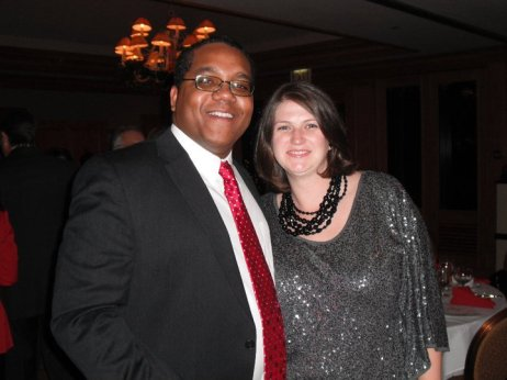 Stephen & Rebecca McDow at advocacy event.