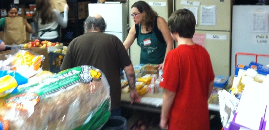 Open Table provides a meal AND a food pantry to over 225 adults and 60 children each week.