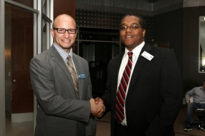 Stephen McDow With California State Assembly-member staffer.