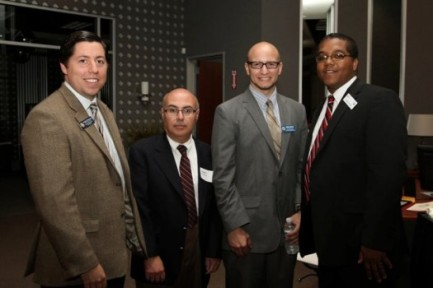 Stephen McDow with California State Assembly-member staffers.