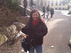Photographer Vanessa Embling at Hope Worldwide & Obama For America (MA).