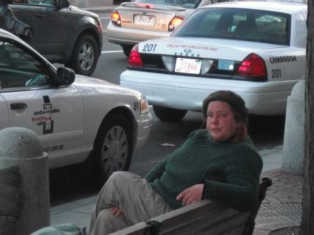 So many women are homeless...so sad!