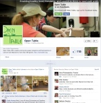 Open Table Facebook Page