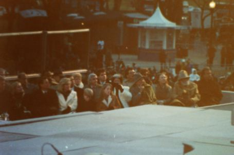 The Clinton's & Gore's at the inauguration concert