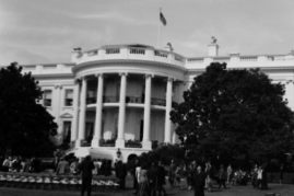 South Lawn at the White House
