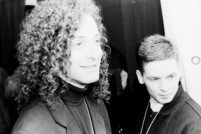 Kenny G at President Clinton's inauguration concert