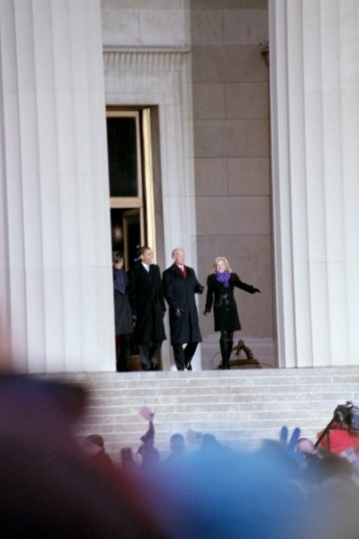 President Obama & Vice President Biden with First Lady Obama & Second Lady Biden at Whistle Stop Baltimore.