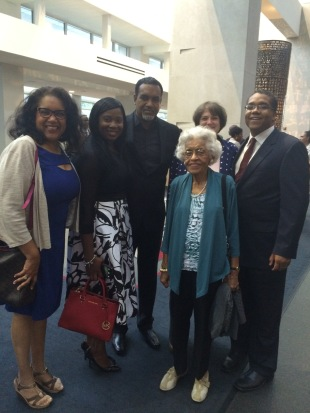 Stephen McDow with family at the Congressional Black Caucus Foundation Prayer Breakfast.
